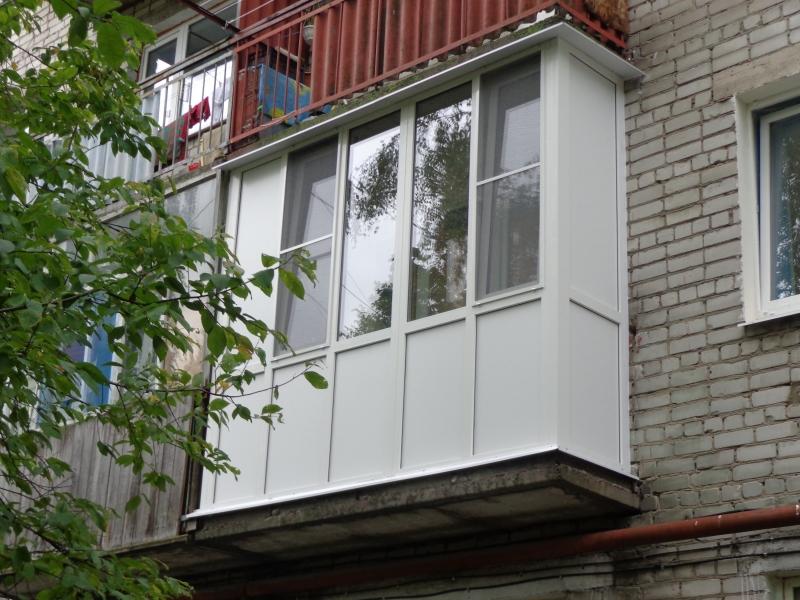 Балконы и лоджии - фотогалерея.